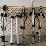 barras de tejadilho e 4 suportes para bicicleta foto 1