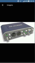 Vendo m-áudio fast track pro. foto 1