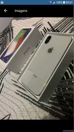 Iphone x 256gb branco novo foto 1