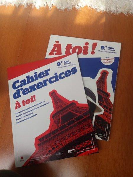 manuais de francês 9 ano foto 1