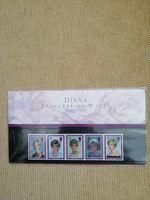 SELOS Lady DIANA emitidos pelo Royal Mail em 1998 foto 1