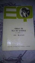 """Livro """"Os Maias"""" foto 1"""