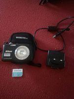 Vento câmera Nikon com cartão 16mb,carregador foto 1
