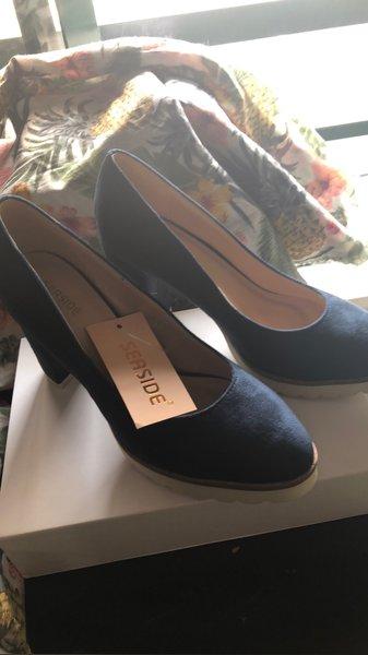 Sapato Azul Escuro 36 foto 1