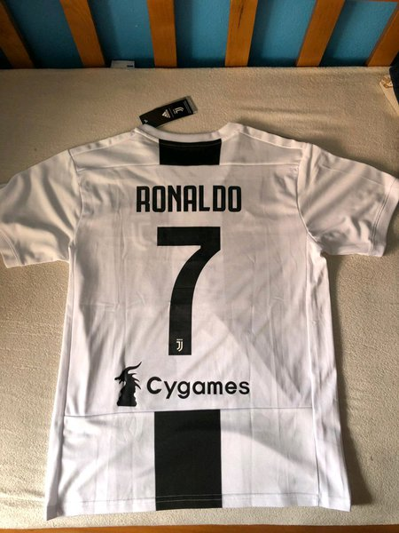 T shirt juventus Cristiano Ronaldo tamanho M foto 1