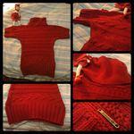 Camisola em malha grossa, perfeita para o inverno foto 1