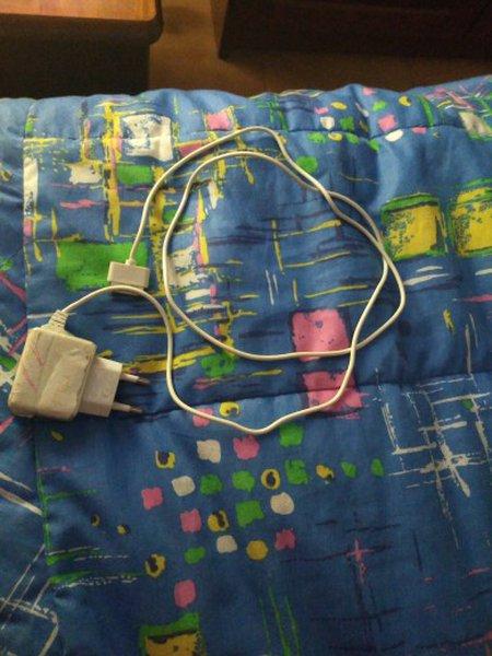 Carregador e cabo para iPhone 4S foto 1