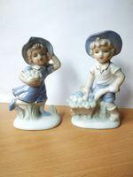 Casal de bonecos em porcelana foto 1