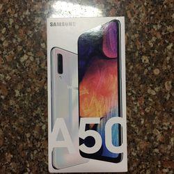 Samsung Galaxy A50 Branco - Novo foto 1