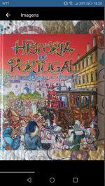 Livro História de Portugal foto 1