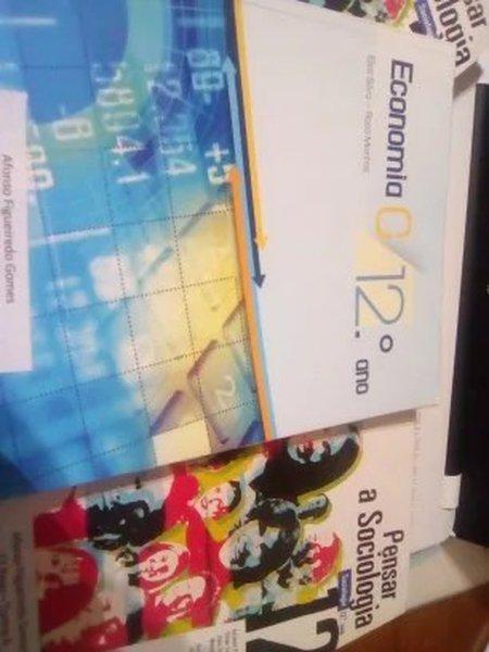 Livros economia c e sociologia foto 1
