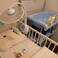 Cama grades medidas 1,24cm por 65cm bebé. foto 1