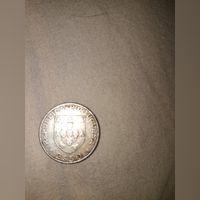 Moeda 2$50 morte de Alexandre Herculano 1877/1977 foto 1