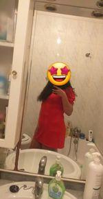 Vestido vermelho Tamanho Unico. foto 1