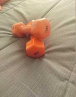 Pesos cor de rosa 3kg foto 1