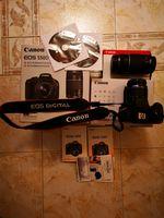 Canon 550d com lentes extra foto 1