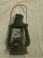 Lampião antigo para restaurar foto 1