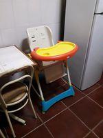 Cadeira de segurança para comer foto 1