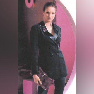 Elegante Blazer de Smoking Laura Scott
