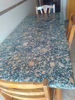Mesa de mármore  maciça foto 1