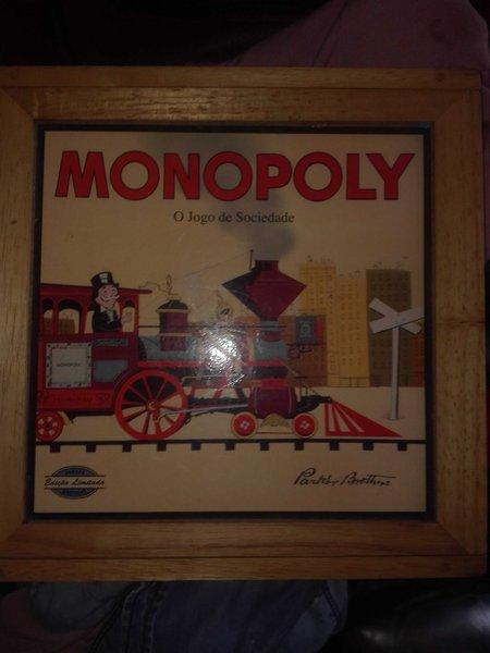 Monopoly ( O jogo da Sociedade) edição limitada foto 1