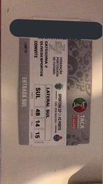Bilhete Final Taça de Port foto 1