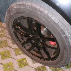 Jantes 16 furação 5 100 com pneus Bridgestone foto 1