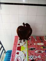 Vendo maçã feita em madeira para decoração foto 1