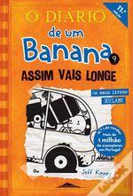 """LIVRO """"Diário de um Banana"""" nº9 - 6€ foto 1"""