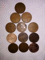 Vendo moedas antigas variadas foto 1