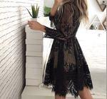 Vendo vestido usado 1 vez tamanho S foto 1