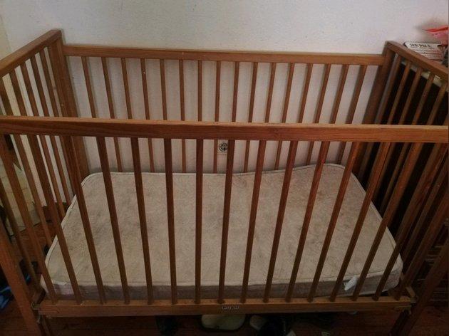 Cama de bebé foto 1