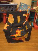 Cadeira de esponja para criança foto 1
