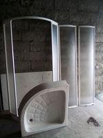 Base com cabine de duche foto 1