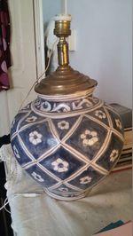 Candeeiro em cerâmica foto 1