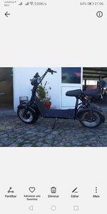 Scooter Elétrica Big Wheel e City foto 1