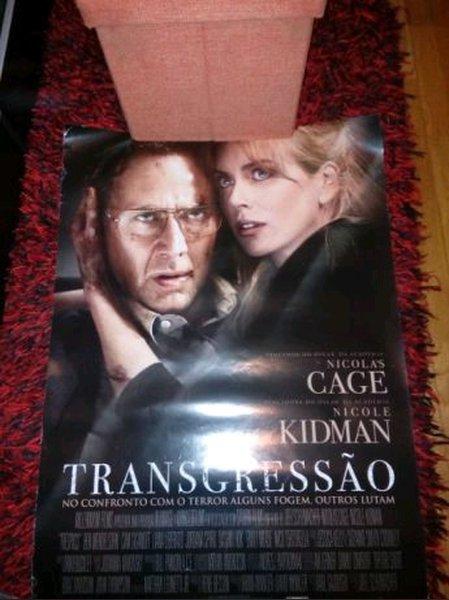 "Poster ""Transgressão"" foto 1"