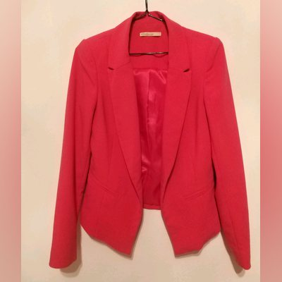 Blazer rosa; tamanho S. foto 1
