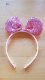 Bandolete com orelhas de minnie em lantejoulas foto 1