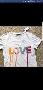 Tshirt LOVE S e M com etiqueta foto 1