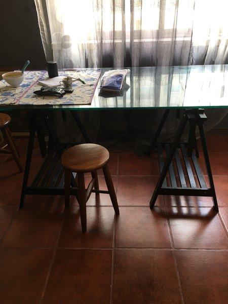 Mesa de vidro foto 1