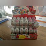 Caixa de ovos da Kinder foto 1