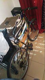 Bicicleta usada só por cabradar e andarMais sms foto 1