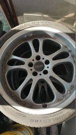 Jantes 18'' 5x100 com pneus foto 1