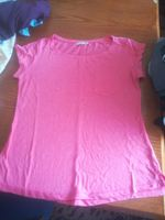 T-shirt cor de rosa Bershka foto 1