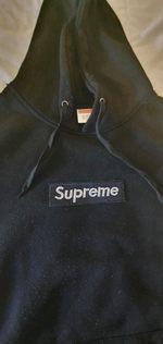Hoodie Supreme box logo foto 1