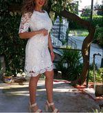Vestido branco ferrache foto 1
