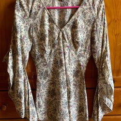 Camisa Zara Beje foto 1