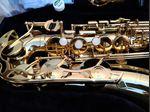 Saxofone Alto yamaha YAS 280 estado novo foto 1