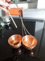 Vasos decorativos de cobre antigos foto 1